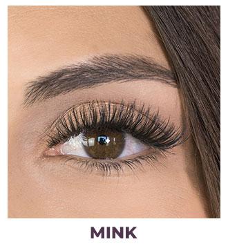 eyelash installation mink