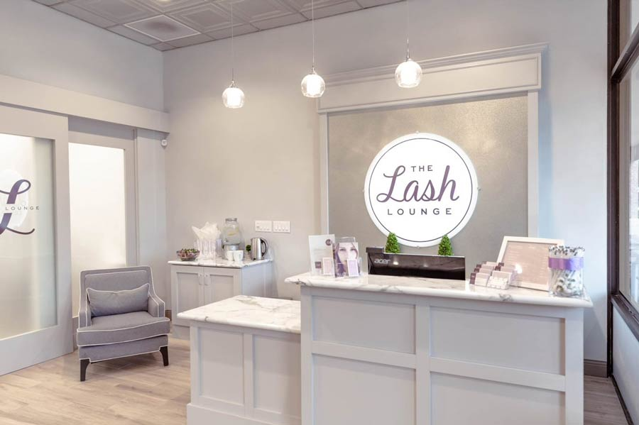 the lash lounge team from the lash lounge Raleigh