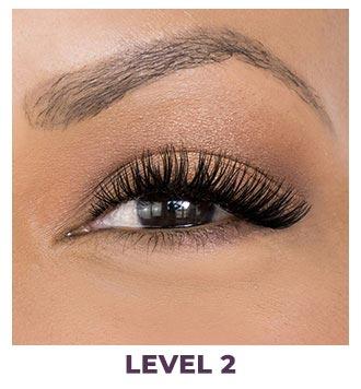 eyelash installation dramatic