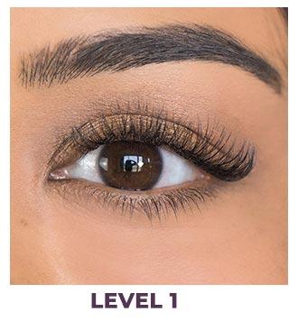 eyelash installation natural