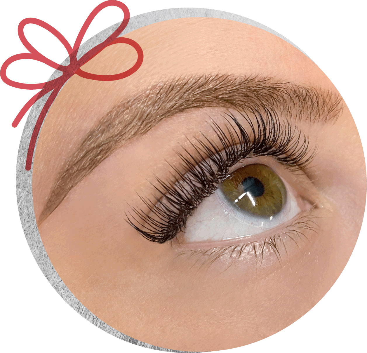 The Lash Lounge Customer Microblade Eyebrows and Eyelash Extensions