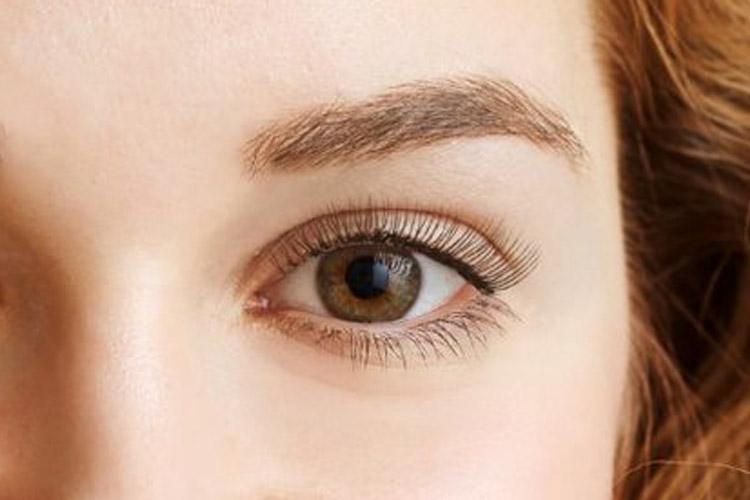 eyebrow tinting before photo