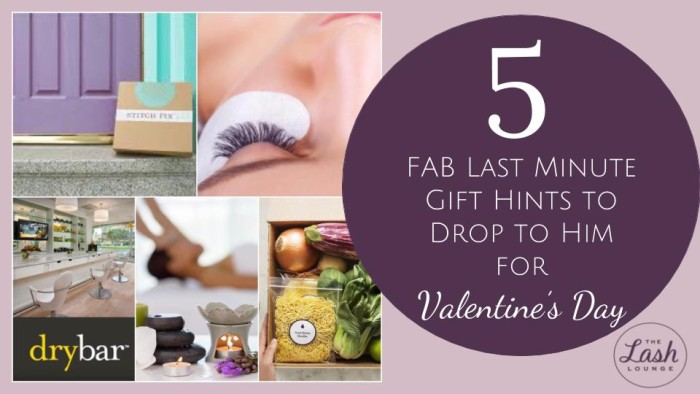 5 Fab Last Minute Hints To Drop To Him For Valentine S Day The