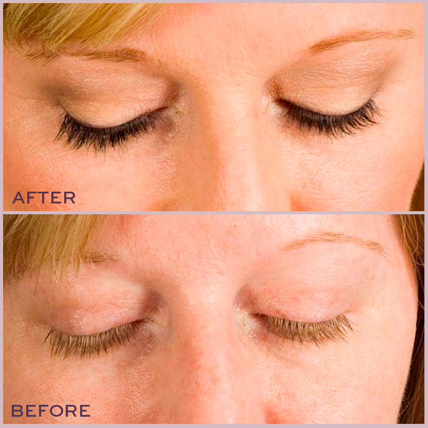 Lash Tint Before And After The Lash Lounge