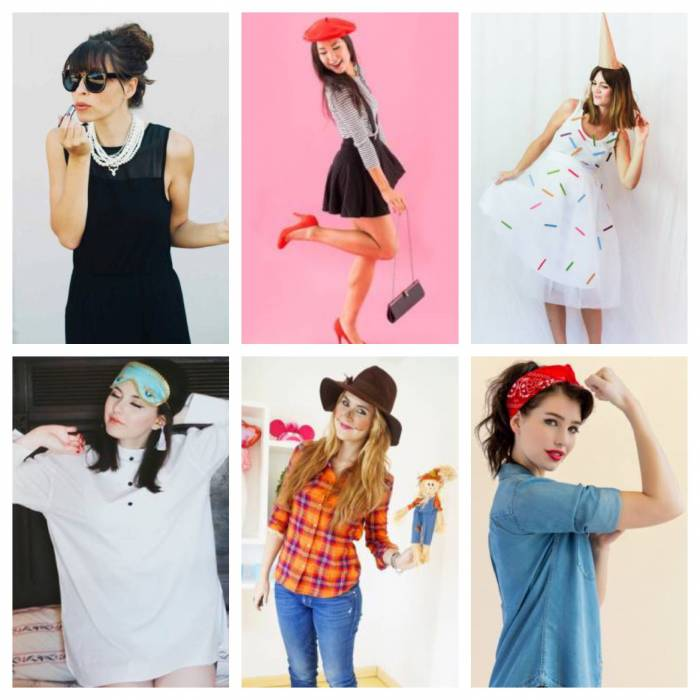 Last-Minute, Easy Halloween Costume Ideas For Busy Women