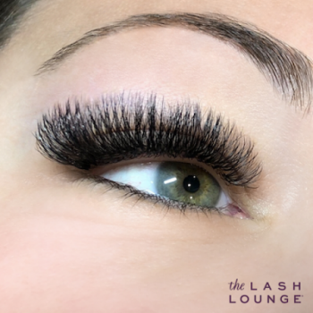 Photo of mink eyelash extensions by The Lash Lounge
