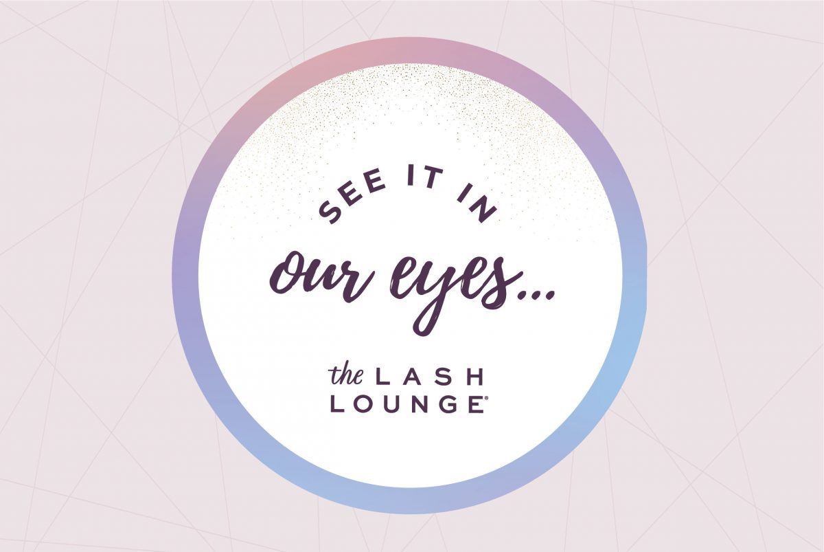 "The Lash Lounge's ""See it in my eyes"" campaign"