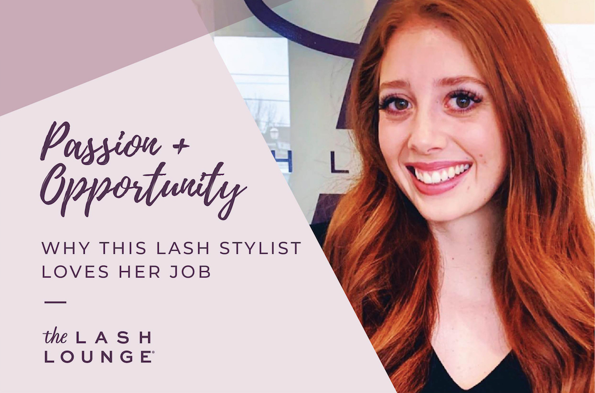 purpose and opportunity featuring lash lounge stylist Madison