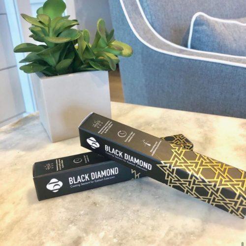 black diamond lash sealant from The Lash Lounge