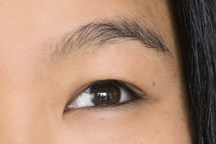 classic eyelash extensions before