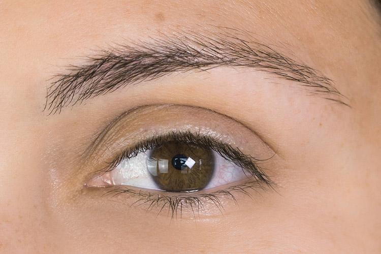 hybrid eyelash extensions before